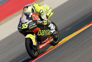 125cc Aragon, Qualifiche: Prima pole dell'anno per Hector Faubel