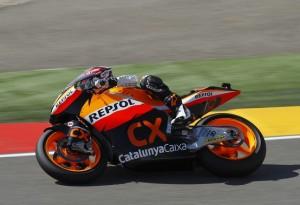 Moto2 Aragon, Warm Up: Marquez è il più veloce