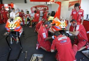 MotoGP: Crisi Ducati, botta e risposta tra Preziosi e Valentino Rossi
