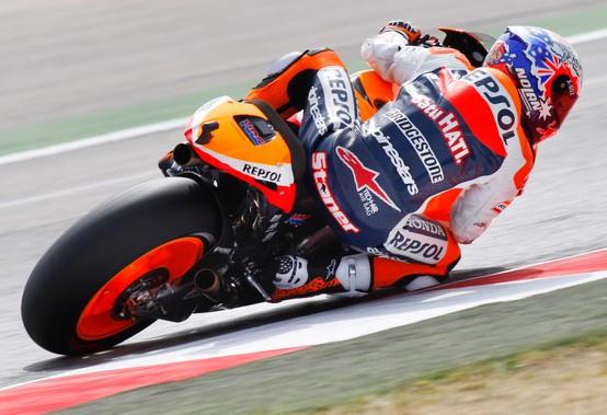 MotoGP Misano, Warm Up: Stoner davanti a Lorenzo