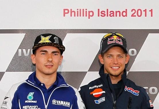MotoGP: La conferenza stampa Pre-GP di Phillip Island, la parola a Stoner e Lorenzo