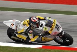 Moto2 Sepang: Vince Luthi, la bandiera rossa stoppa Bradl