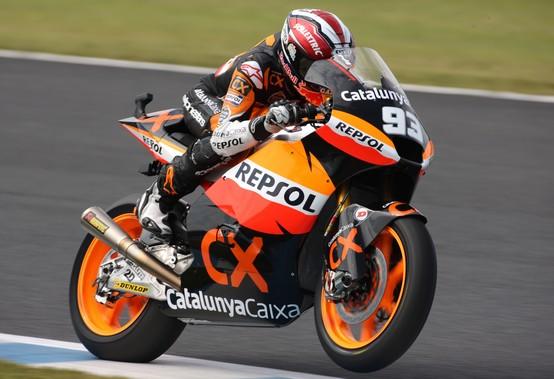 """Moto2: Marc Marquez """"Siamo in testa al campionato, ma non ho intenzione di cambiare il modo di lavorare"""""""
