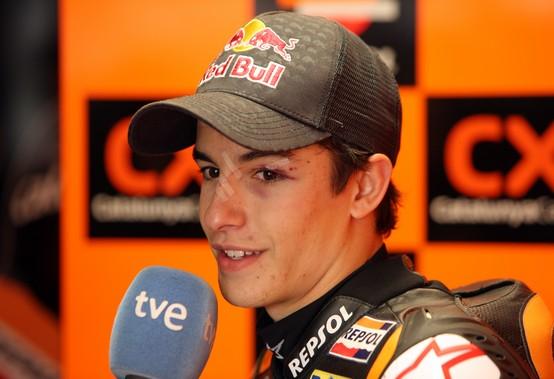 """Moto2 Phillip Island, Qualifiche: Marc Marquez """"Dobbiamo mantenere la calma"""""""