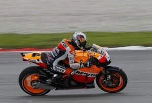 MotoGP Sepang, Prove libere 3: Pedrosa sempre al Top, bene Hayden