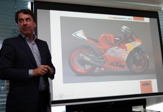 Moto3: La nuova KTM in pista venerdì