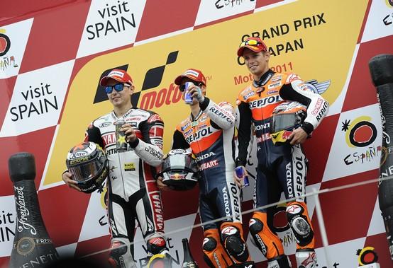 MotoGP Motegi: Report Bridgestone