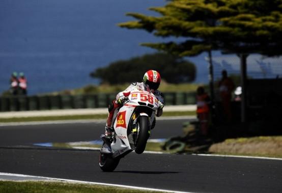 """MotoGP Phillip Island, Prove Libere: Marco Simoncelli """"Giornata positiva nonostante le due scivolate"""""""