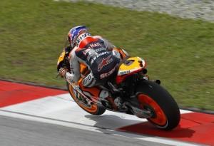 MotoGP Sepang, Warm Up: Stoner al comando