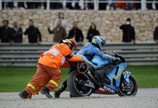 """MotoGP: Alvaro Bautista """"Brutto modo per chiudere l'anno"""""""