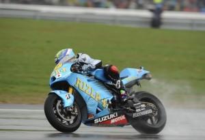 MotoGP Valencia, Prove libere 2: Con la pioggia sorpresa Bautista
