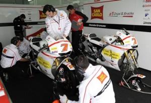 MotoGP Valencia, Prove Libere: Atmosfera surreale nel Team Gresini