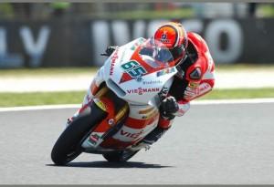 Moto2 Valencia, Prove libere 1: Bradl al comando