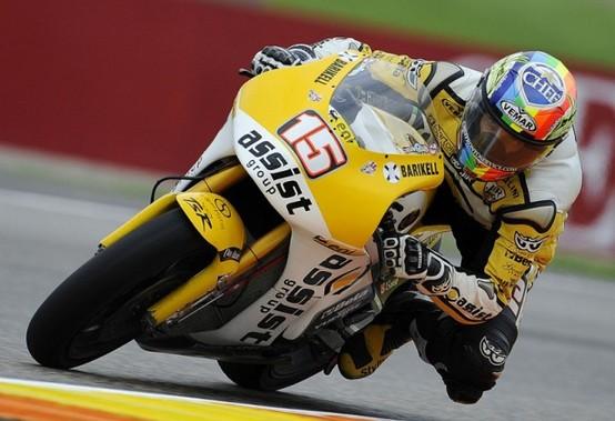 Moto2 Valencia, Warm Up: Alex De Angelis è il più veloce