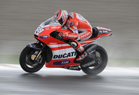 """MotoGP Valencia, Prove Libere: Nicky Hayden """"La GP11.1 va molto bene sul bagnato"""""""