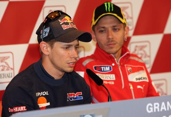 """MotoGP: Casey Stoner """"Con la Honda sintonia straordinaria, Rossi deve cambiare il suo stile"""""""