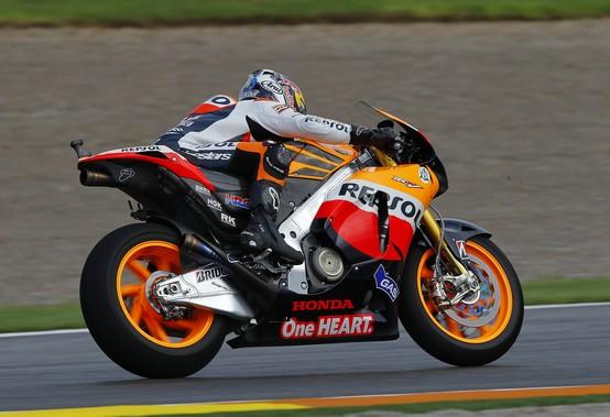 """MotoGP Valencia, Prove Libere: Dani Pedrosa """"Asfalto piuttosto vecchio e molto scivoloso"""""""