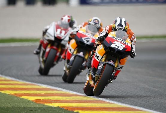 """MotoGP Valencia: Dani Pedrosa """"Non è stata una gara facile ma guardo con fiducia al 2012"""""""