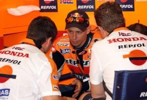 """MotoGP: Casey Stoner """"Sarà difficile tornare a correre dopo l'incidente di Simoncelli"""""""