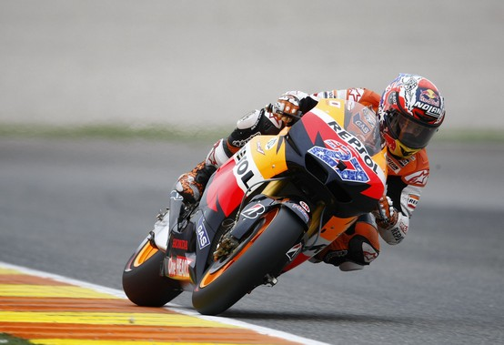 """MotoGP Valencia: Casey Stoner """"Incredibile vincere sulla linea del traguardo"""""""