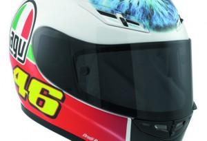 MotoGP: Disponibile nei negozi il casco utilizzato da Valentino Rossi al Mugello