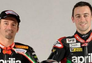 Superbike: Max Biaggi ed Eugene Laverty  a Milano per la presentazione della stagione 2012