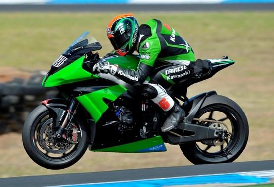 Superbike: Test Phillip Island Day 1, Sykes vola, Hopkins si frattura