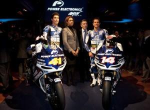 MotoGP: Presentato il Team Power Electronics Aspar