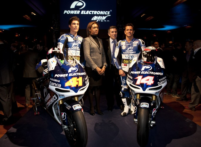 MotoGP: Presentato il Team Power Electronics Aspar