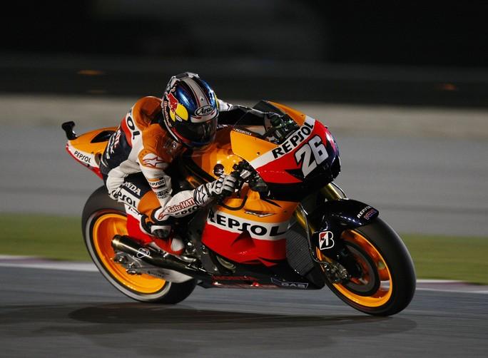 """MotoGP Losail, Qualifiche: Dani Pedrosa """"Spero in una bella gara"""""""