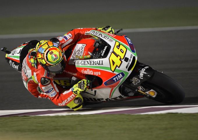 """MotoGP: Valentino Rossi """"Sto soffrendo ma non divorzio dalla Ducati"""""""