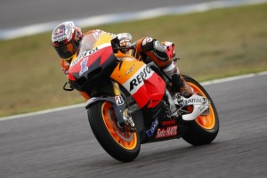 """MotoGP Jerez, Prove Libere: Casey Stoner """"E' stata una giornata strana"""""""