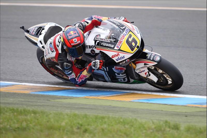 """MotoGP Le Mans, Qualifiche: Stefan Bradl """"Il feeling era buono, ma ho spinto troppo e sono caduto"""""""