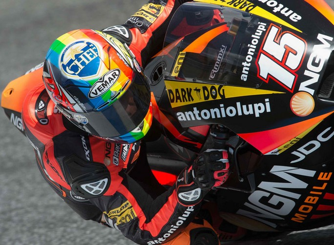 "Moto2 Estoril, Qualifiche: Alex De Angelis ""Sono fiducioso e convinto"""