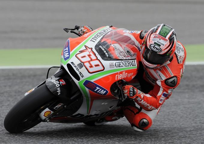 """MotoGP Estoril, Prove Libere: Nicky Hayden """"Il nuovo pneumatico Bridgestone è migliore"""""""