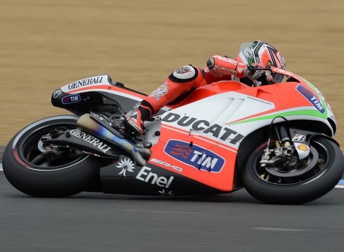 """MotoGp Le Mans, Qualifiche: Nicky Hayden """"Tutte le modifiche non sono andate bene, ma non mi arrendo"""""""