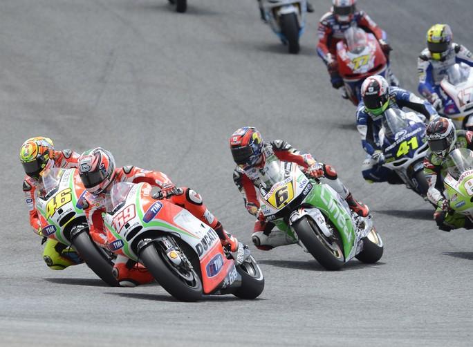 """MotoGP Estoril: Nicky Hayden """"Ho avuto un problema elettronico in gara"""""""