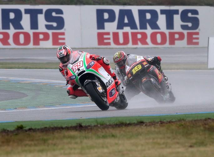"""MotoGP Le Mans: Nicky Hayden """"Congratulazioni a Rossi e al team per il podio"""""""