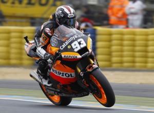 Moto2 Le Mans, Qualifiche: Terza pole dell'anno per Marquez
