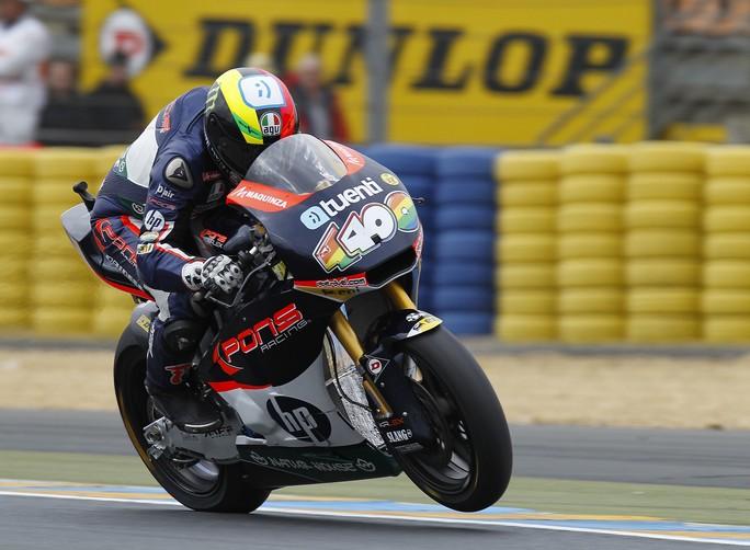 Moto2 Le Mans, Prove Libere 3: Espargarò davanti a Redding, Corti 3°