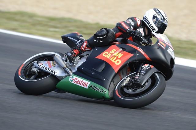 """MotoGP Estoril, Prove Libere: Michele Pirro """"Faccio una gran fatica ad aprire il gas"""""""