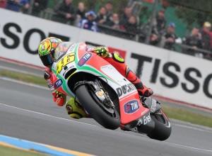 """MotoGP Le Mans, Qualifiche: Valentino Rossi """"Buon 7° posto, riesco a guidare piuttosto bene"""""""