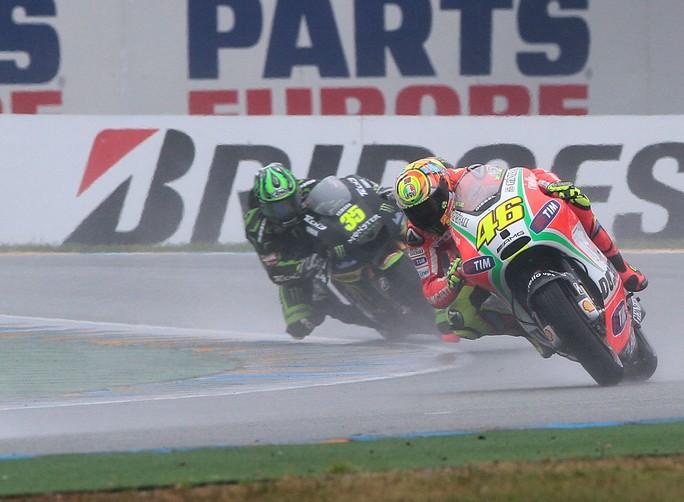 """MotoGP Le Mans, Gara: Valentino Rossi """"Quando ho il passo, negli ultimi giri ci provo sempre"""""""