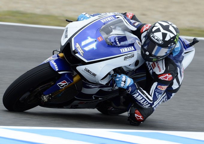 MotoGP Estoril, Prove Libere 1: Spies davanti alle Ducati di Hayden e Rossi