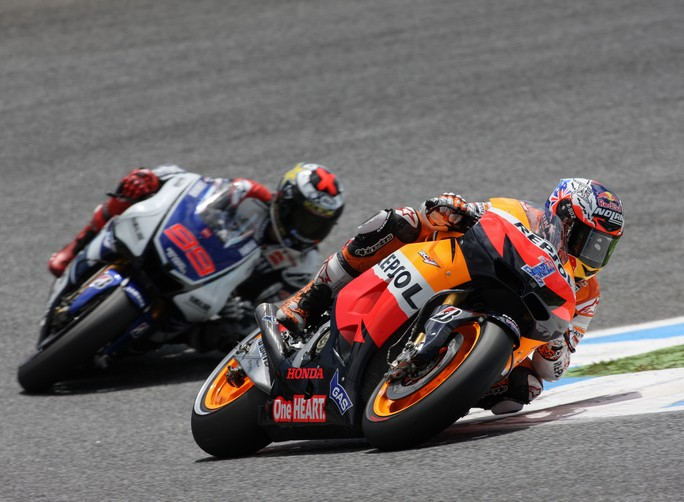 "MotoGP Estoril: Casey Stoner ""Altro weekend fantastico"""