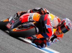 MotoGP Estoril, Warm Up: Stoner è il più veloce