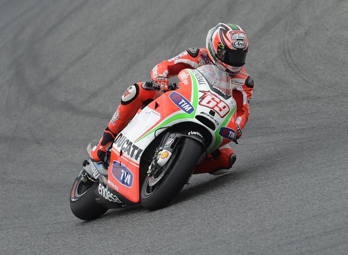 """MotoGP Test Barcellona: Nicky Hayden """"Giornata utile, peccato per la bandiera rossa alla fine"""""""