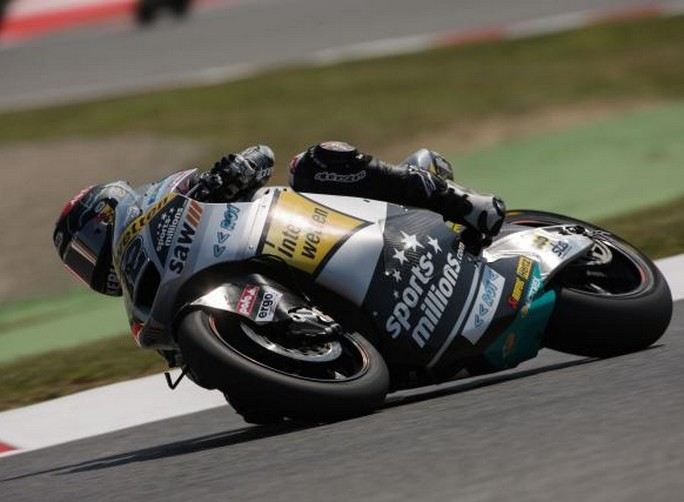 Moto2 Barcellona, Warm Up: Luthi precede Marquez