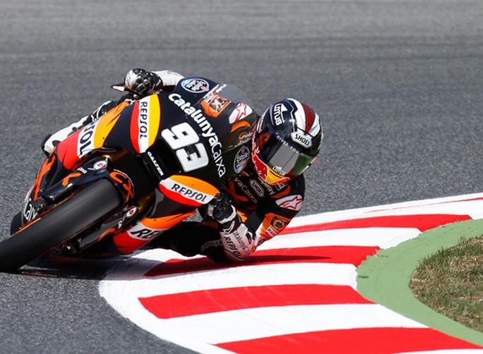 """Moto2 Barcellona, Prove Libere: Marc Marquez """"Sappiamo dove lavorare per migliorare"""""""