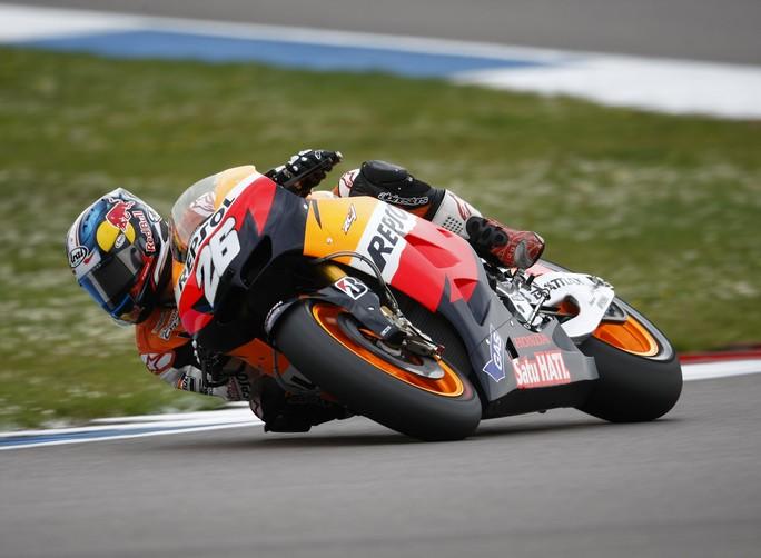 """MotoGP Assen, Qualifiche: Dani Pedrosa """"Il feeling con l'anteriore è migliorato"""""""